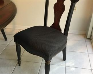 Two chairs could use the sit foam to be redone