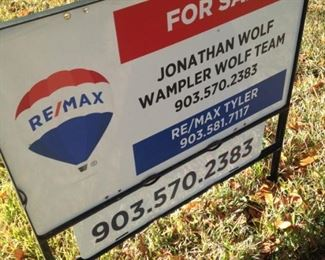 Call Jonathan Wolf at Re/Max for more details.