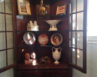 Handsome corner cabinet