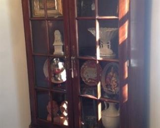 Display  and storage areas