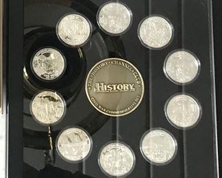 coin set civil war
