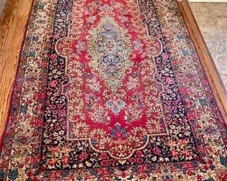 Assortment of beautiful hand woven oriental rugs...this one measure 4'x7'...this is my favorite!