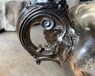 Close up of the STERLING handle. Absolutely gorgeous!