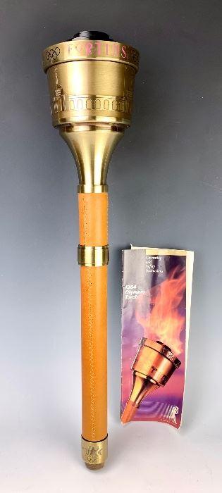 Los Angeles 1984 Summer Olympics Torch