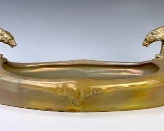 Rare Zsolnay Polar Bear Bowl Circa 1906-1910