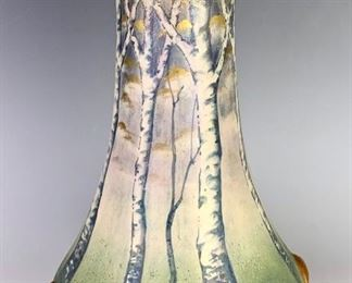 "Paul Dachsel for Amphora ""Mushroom"" Vase C. 1906"