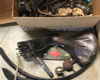 Vintage bike parts
