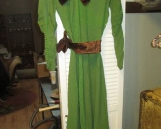 Front Hall Closet:  Great Vintage Dress
