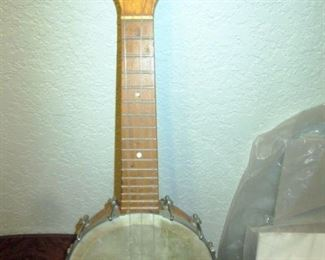 Living Room:  Hollywood Banjo Ukulele