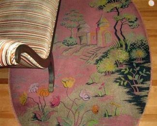 Living Room:  Vintage Large Rug