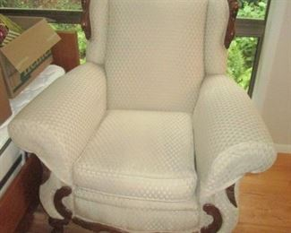 Living Room:  Nice Antique Sofa with matching Chair