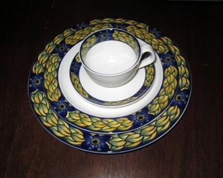 Kitchen Area:  Collectible China, 4 pieces
