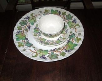 Kitchen Area:  Collectible China, 3 pieces