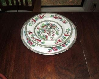Kitchen Area:  Collectible China, 2 pieces