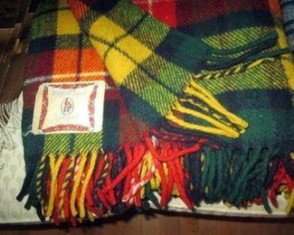 Hall Closet:  Several wool Stadium blankets - 1 is Faribo