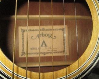 Living Room:  Arbor Guitar