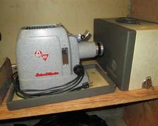 "Garage:  Garflex ""School Master""Slide Projector"