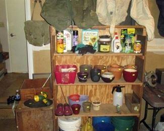 Garage:  Stuff