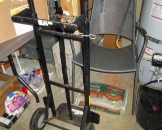 Garage:  Hand Cart, Chair