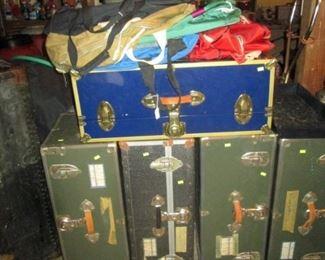 Garage:  Trunks, Bags