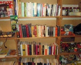 Garage:  Books