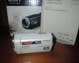 Living Room: Sony Camera