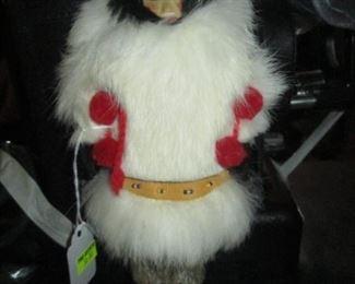 Dining Room:  Eskimo Doll