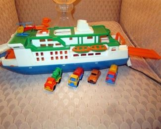 Kitchen Area: Ferry Boat w/Cars, Helicopter.