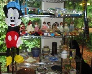Kitchen Area:  Pots, Pans, Stuff