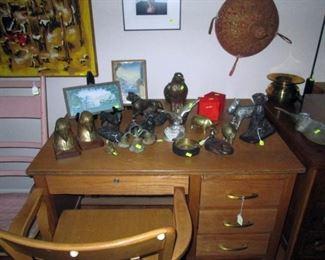 Kitchen Area:  Bronze Pieces
