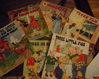 Vintage Platt & Munk Child Books 1950's