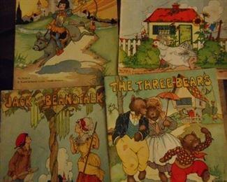 Vintage Platt & Munk 1950's Child Books