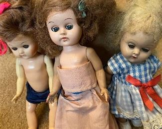 Vintage Ginny Vogue Dolls