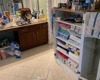 Upstairs Dressing Area, Bathroom