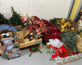 Christmas Wreath Flowers, Decor