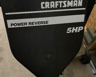 Craftsman 5HP Rototiller