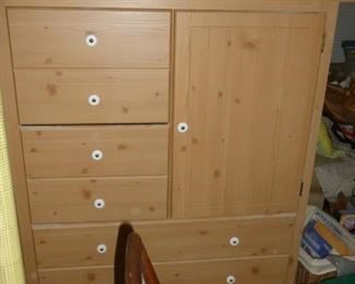 Knotty Pine chest