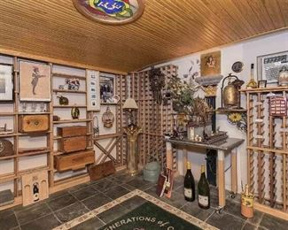 Many items in Wine Cellar for sale