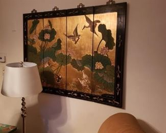 oriental pieces throughout the home