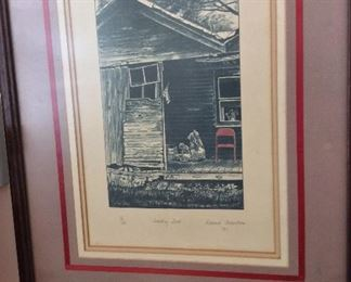 """Country Seat"" by Roland Alderton Signed and Numbered 15/25, 16"" x 20""."