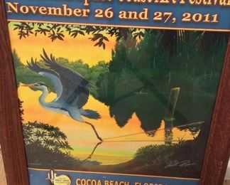 Space Coast Arts Festival Poster.