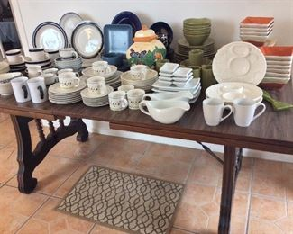 Large Selection of Dishware.