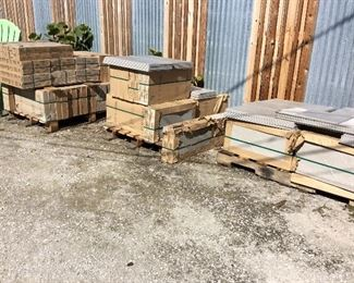 "Large Quantity (3 Pallets) of Flooring Tile by CIFRE Group, Color: Nexus Pearl, Size: 30 cm x 60 cm (11.8"" x 23.6""), 6 Tiles per Box, 2 Boxes to a Bundle. There are 88+ Boxes for Sale."