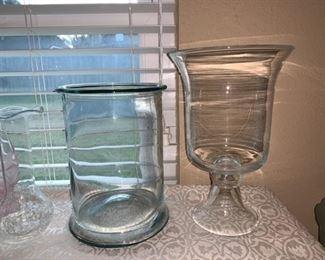 More  Large glassware