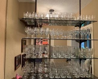 S engraved barware over 60 pcs