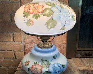 Vintage Handpainted Table Lamp