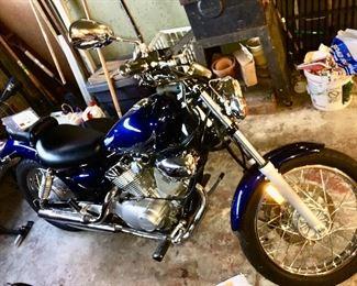 2013 Yamaha Star xv250 motorcycle 835mi