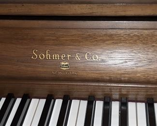 Sohmer & Co. upright piano