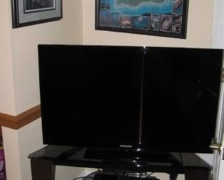 One of many flat screen t.v's