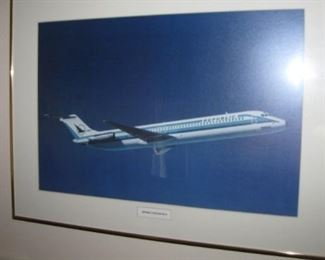 More Republic airlines posters / all framed.